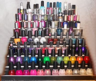 Build Your Own Nail Rack by Prettyfulz Make Your Own Nail Display Diy The