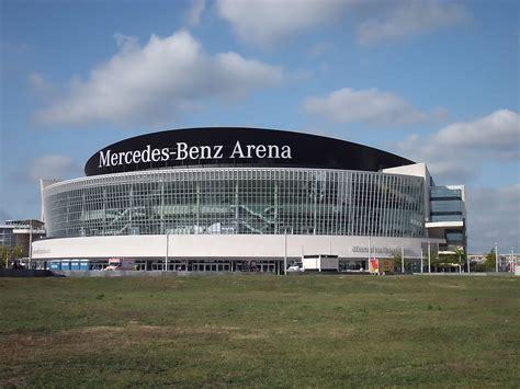 sede mercedes germania mercedes arena berlin