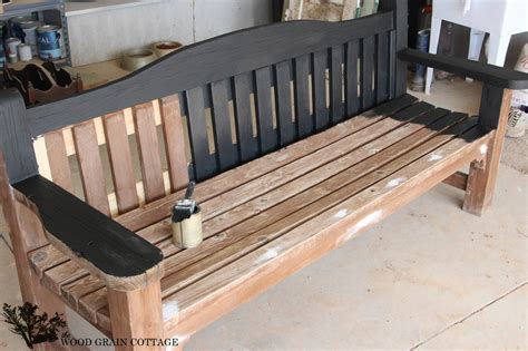 wooden park bench wood benches affordable custom handmade wooden benches by
