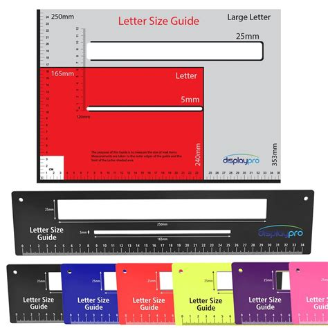 royal mail letter postal template size guide postage