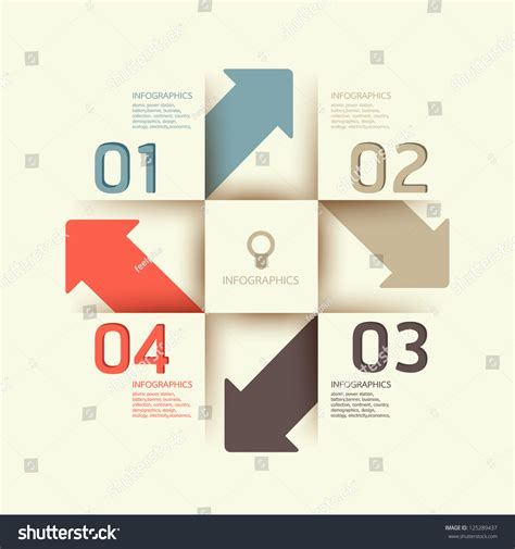 Modern Design Template Can Be Used Stock Vector 125289437 Shutterstock Can Design Template
