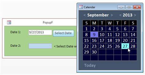 access calendar template microsoft access calendar template