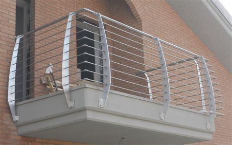 ringhiere inox per scale interne ringhiere per balconi e scale in ferro e acciaio inox
