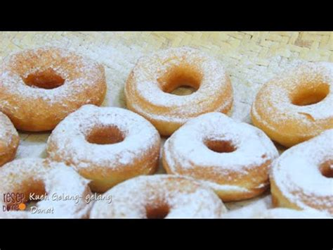 youtube membuat kue donat kueh gelang gelang donat goreng youtube
