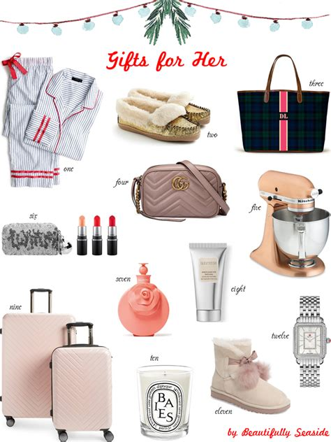 christmas ideas for women in 20s 2018 gift guide for beautifully seaside