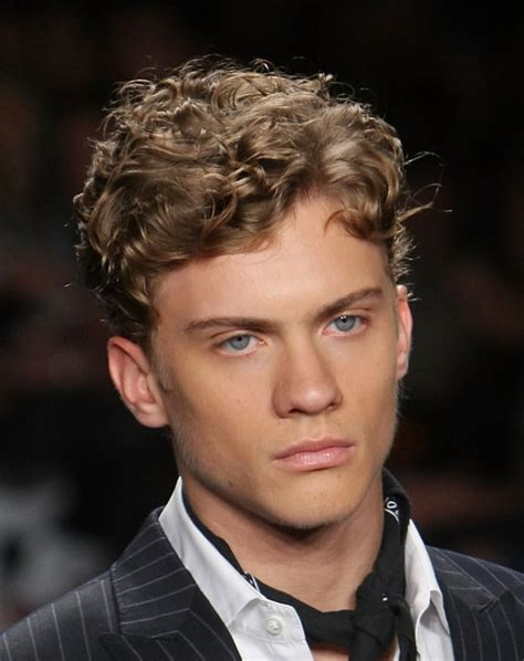 Hairstyle For Short Curly Hair Male   HairStyles