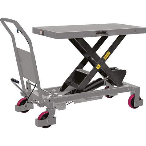 Hydraulic Table Lift by Roughneck Hydraulic Lift Table Cart 2 200 Lb Capacity