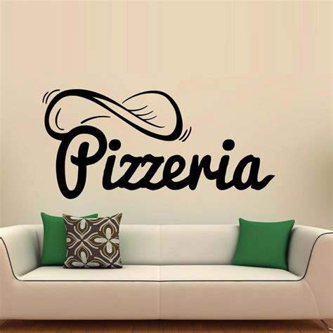 creative wall stickers buy wholesale pizza restaurant decor from china pizza restaurant decor wholesalers