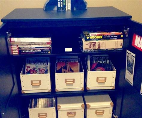 25 best ideas about comic book storage on
