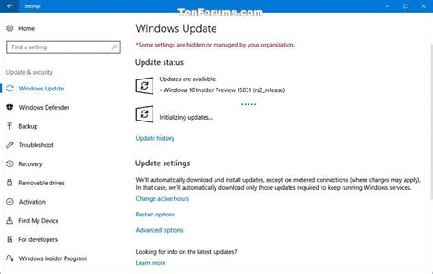 announcing the first build of windows 10 technical preview announcing windows 10 insider preview build 15031 for pc