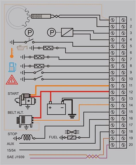 gsm based engine genset controller