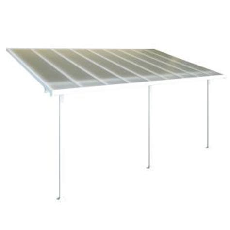 Patio Covers At Home Depot Palram Aluminum And Polycarbonate 10 Ft X 18 Ft Patio