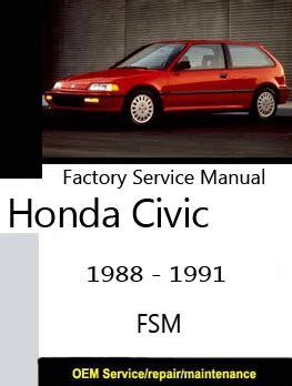 honda factory service repair manuals 1997 honda civic factory service manual lafile