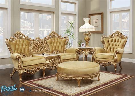 Sofa Mewah sofa tamu ukir jepara warna emas mewah terbaru royal