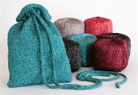 pattern for yarn bag a bit of sparkle evening bag pattern download knitting
