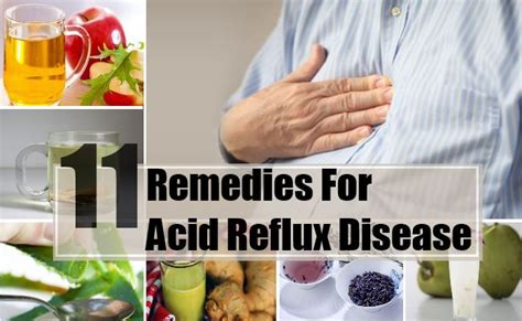 11 home remedies for acid reflux disease