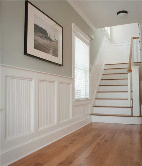 Masonite Wainscot by How They Re Built Harbaugh Developers Llc