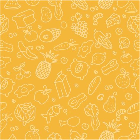 design house skyline yellow motif wallpaper food free patterns patterns kid