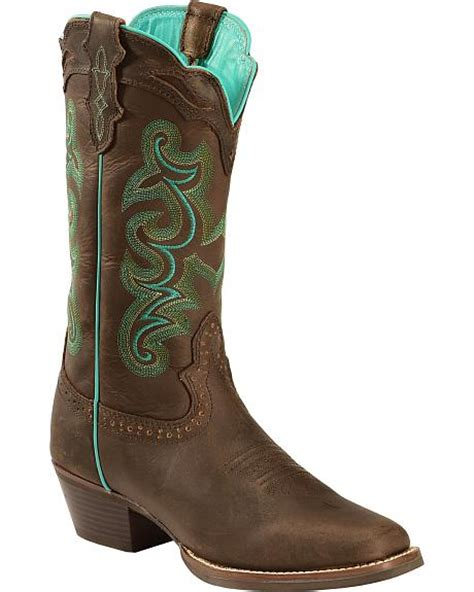 justin silver boots justin silver turquoise stitched boots square