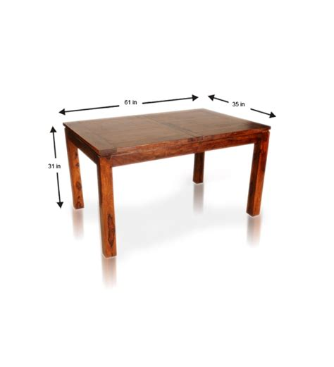 Extendable Wooden Dining Table Sheesham Wood Extendable Dining Table By Mudramark Dining Tables Furniture