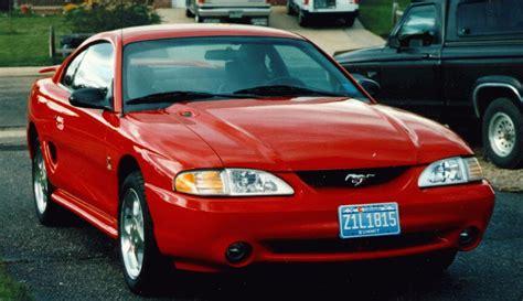 94 mustang gt horsepower mustang specs 1994 ford mustang cobra