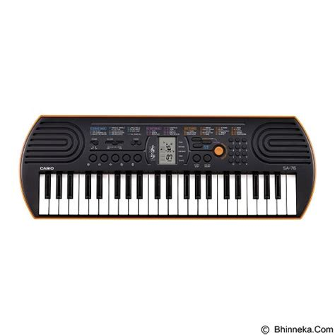Keyboard Murah Casio jual casio keyboard mini sa 76 murah bhinneka