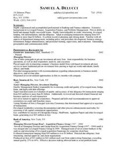 Sle Resume For Investment Banking by Investment Banks Resume Sales Banking Lewesmr