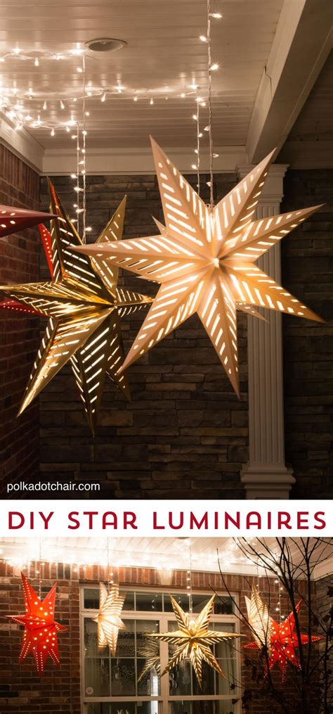 Stars Decorations For Home | best 25 star lanterns ideas on pinterest paper star