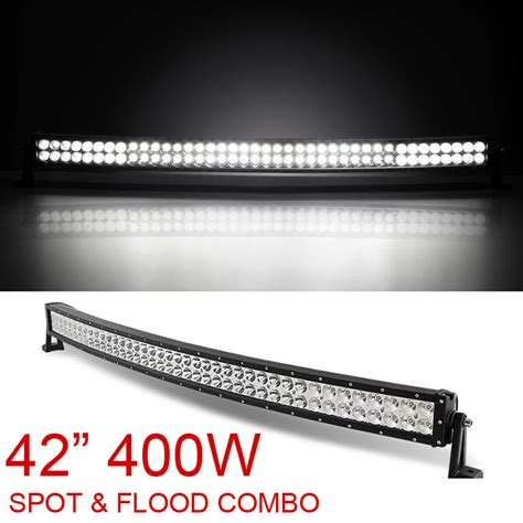 42 Quot Inch 400w Combo Flood Spot Curved Led Light Bar 42 Inch Led Light Bar