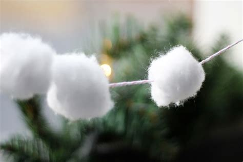 snowball garland snowball garland 4 two delighted