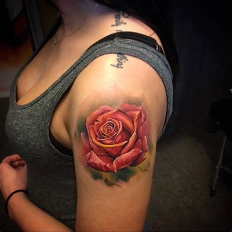 pretty rose tattoos pin by ideas on tattoos shoulder