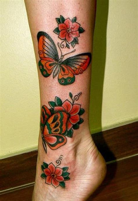 butterfly tattoos on leg butterfly design in leg www imgkid the