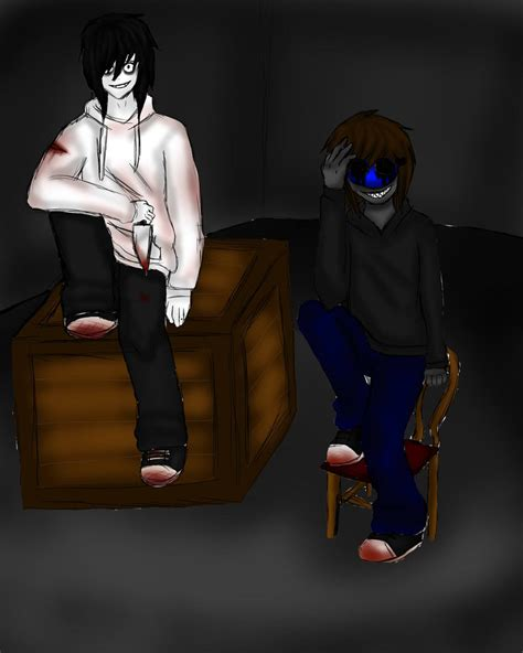 imagenes de jack y jeff jeff the killer and eyeless jack by justcharliebitxh on
