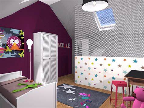 deco chambre enfant emejing idee chambre bebe mansardee pictures matkin info