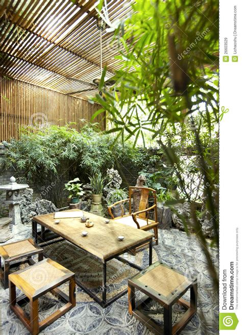backyard garden restaurant garden restaurant chinese yard royalty free stock images image 26603529
