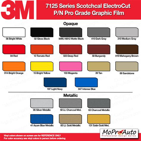 3m color chart color chart 3m avery ritrama vinyl colors