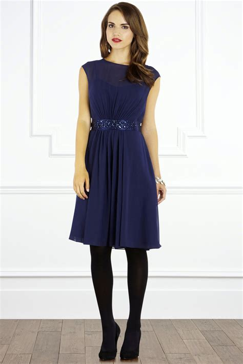 Dress Navy lori dress navy wedding dress from coast