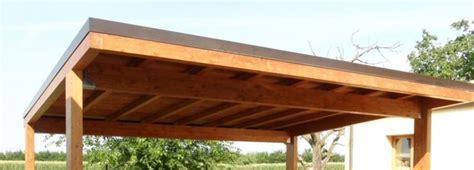 costruzione tettoie in legno tettoia in legno realizzazione e costi edilnet