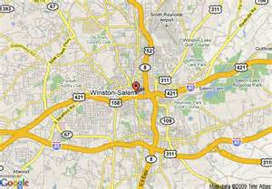 map of wingate by wyndham winston salem winston salem