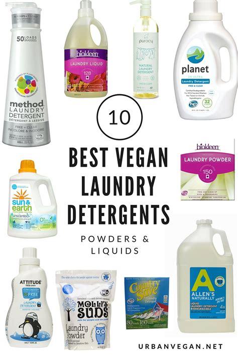 7 Of My Favorite Laundry Soaps by 10 Best Vegan Laundry Detergents Powders Liquids