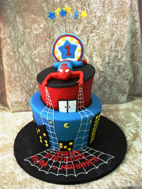 pin sab cakes spiderman birthday cake home decorating and cute spider man cake