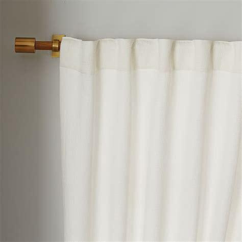 matelasse drapes brighton matelasse curtain stone white west elm
