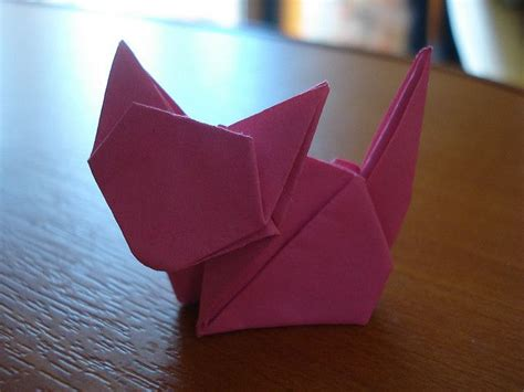 How To Origami Cat - origami cat origami