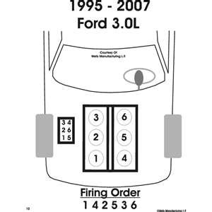 2001 ford taurus firing order firing order for a 2000 ford taurus flex fuel autos post