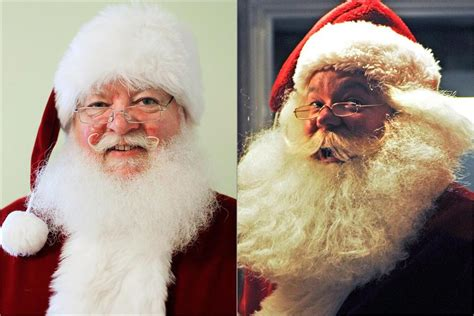father christmass fake beard real or fake beards santas split hairs the boston globe