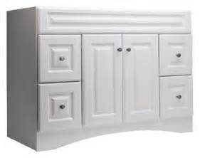 White Northrup Vanity Style Selections 20d Vsdb48 Northrup 48 In X 21 In White