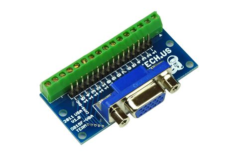 Vga On Board db15 vga breakout board
