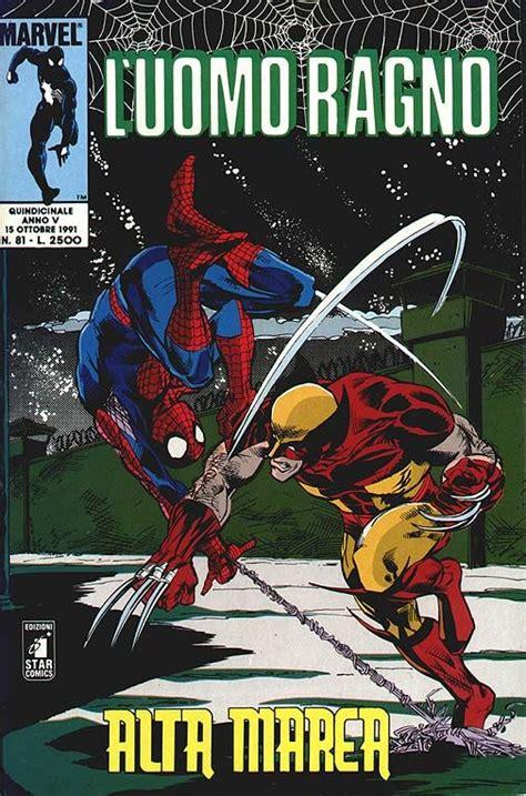 testo uomo ragno comics uomo ragno 81 l uomo ragno 81
