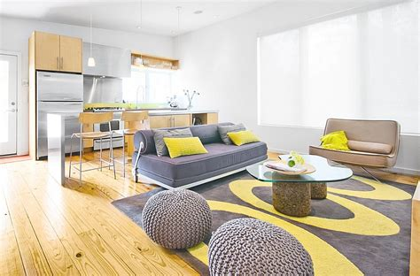 Gray And Yellow Living Room gray and yellow living rooms photos ideas and inspirations