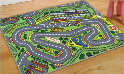 Rug Race Car Track Kids Area Rugs At Only Car Rug